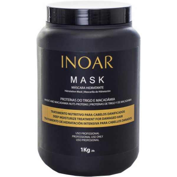 смотреть фото Бессульфатная маска Иноар Макадамия 1000 мл