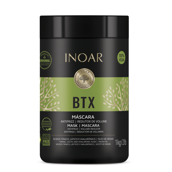 Холодный ботекс Иноар, Inoar BTX mascara antifrizz redut