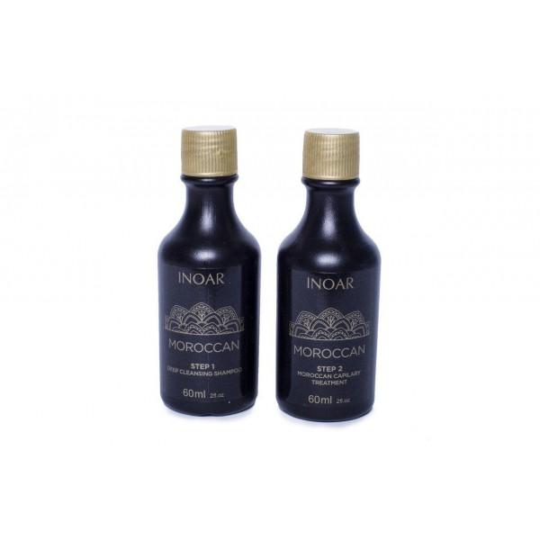 Кератин для слабых волос Иноар Марокко: на 1 раз, 2х60 мл