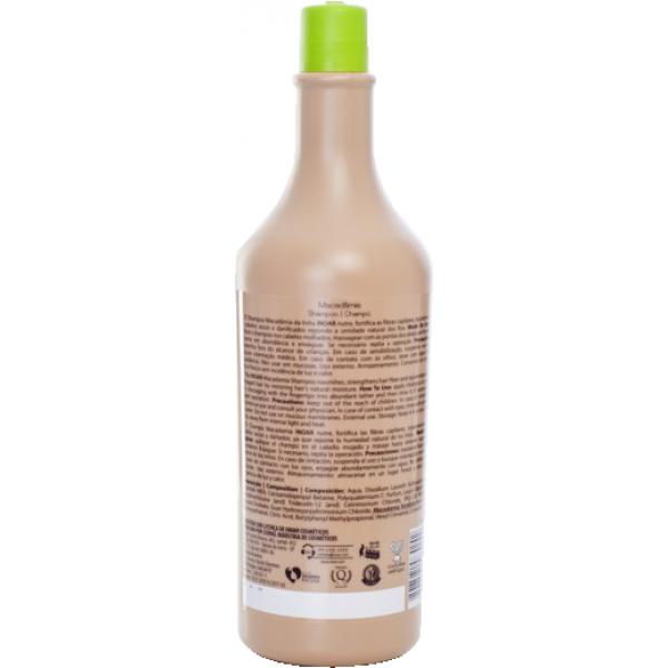 смотреть фото Бессульфатный шампунь Макадамия для нормальной длины и сухих кончиков,1000 мл
